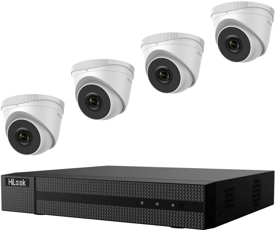 Sada bezpečnostní kamery HiLook hl414t, 4kanálový