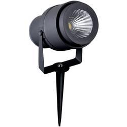 LED LED zahradní reflektor V-TAC 12 W, neutrálně bílá, šedá