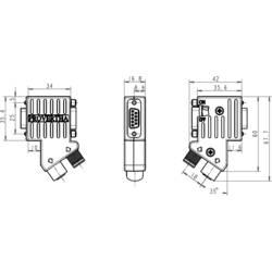 Adaptér akčního/snímacího členu Provertha Provertha I-NET 40-5292122 adaptér ve tvaru Y, 1 ks
