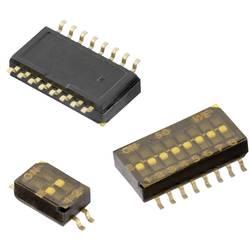 DIP spínač Pólů 2 SMD Würth Elektronik 1 ks