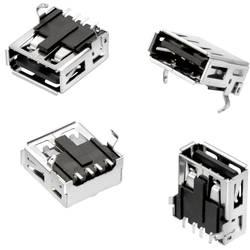 USB konektor série WR-COM zásuvka, vestavná horizontální Würth Elektronik SMT, 1 ks