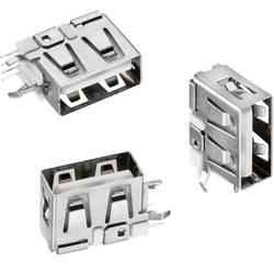 USB konektor série WR-COM zásuvka, vestavná vertikální Würth Elektronik Short typ, 1 ks