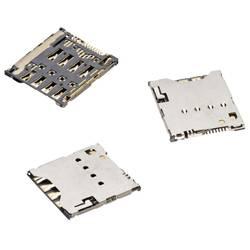 Zásuvka na kartu Micro-SIM Würth Elektronik 693021010811, počet kontaktů 8, 1 ks