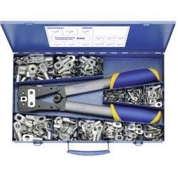 Krimpovací sada 6 mm² 50 mm² stříbrná Klauke SK65B 261 díly