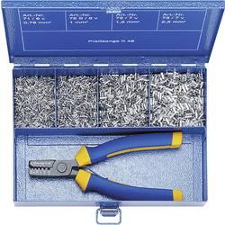 Sada dutinek 0.75 mm² 2.50 mm² stříbrná Klauke SK30B 4001 díly