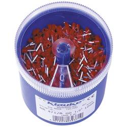 Sada dutinek 1 mm² 1 mm² červená Klauke GR4718DO 1000 díly