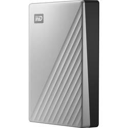 """Externí HDD 6,35 cm (2,5"""") WD My Passport Ultra for Mac, 4 TB, USB-C™, stříbrná"""