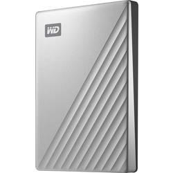 """Externí HDD 6,35 cm (2,5"""") WD My Passport Ultra for Mac, 2 TB, USB-C™, stříbrná"""