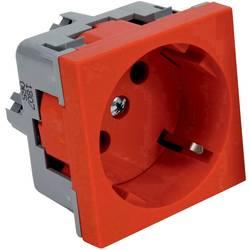 Přístrojová vložka jednonásobná zásuvka (d x š) 45 mm x 45 mm KOPOS QS 45x45_BB 1 ks červená