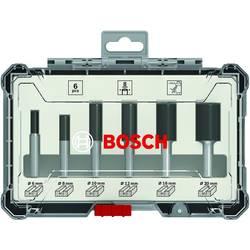 Sada drážkových fréz, dřík 6 mm, 6 ks Bosch Accessories 2607017465