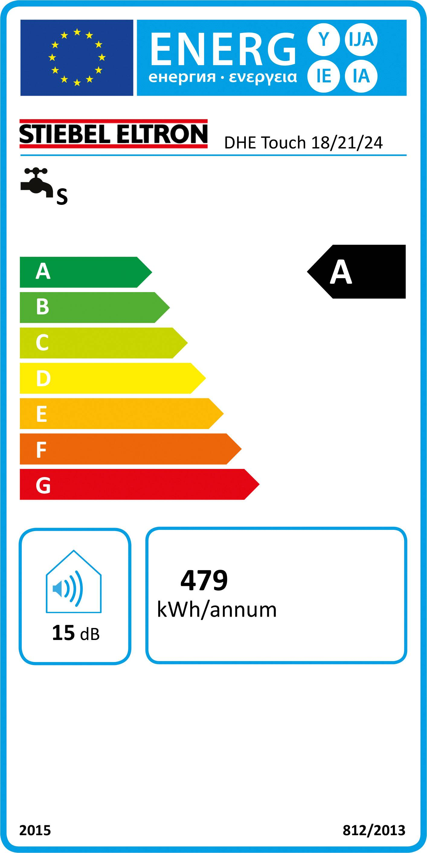 Průtokový ohřívač Stiebel Eltron DHE Touch 18/21/24 234459 18 kW, 21 kW, 24 kW