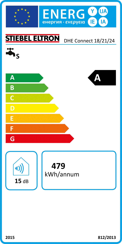 Průtokový ohřívač Stiebel Eltron DHE Connect 18/21/24 234467 18 kW, 21 kW, 24 kW