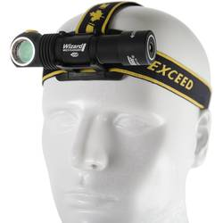 LED čelovka ArmyTek Wizard v3 F05401SC, 1000 lm, napájeno akumulátorem, 61 g, černá