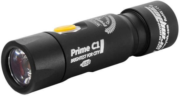 LED kapesní svítilna ArmyTek Prime C1 F05601SC, 60 g, napájeno akumulátorem, černá