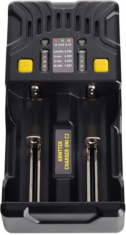 Nabíječka akumulátorů ArmyTek Uni C2, AAA, AA, malé mono, velké mono, 10440, 14500, 16340, 18650, 26650