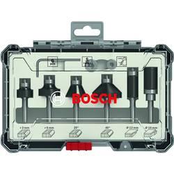 6 dílná sada Bosch Trim&Edging fréza, 6mm dříkem. Bosch Accessories 2607017468
