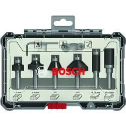 Sada ohranných a hranových fréz, 6 mm dřík, 8 ks Bosch Accessories 2607017469