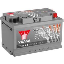 Autobaterie Yuasa SMF YBX5100, 75 Ah N/A