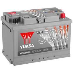 Autobaterie Yuasa SMF YBX5096, 80 Ah N/A