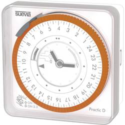 Časovač na omítku Suevia Practic D, 230 V/AC, 16 A/230 V