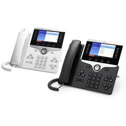 Systémový telefon, VoIP Cisco CP-8851-3PCC-K9= barevný displej antracitová
