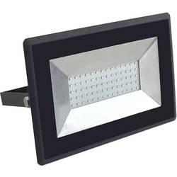 Venkovní LED reflektor V-TAC VT-4051B, 50 W, neutrálně bílá, černá