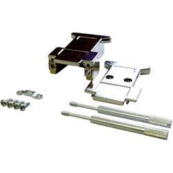 D-SUB pouzdro BKL Electronic 10120233-P/B, pólů 37, plast, pokovený, stříbrná, 1 ks