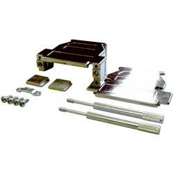 D-SUB pouzdro BKL Electronic 10120232-P/B, pólů 25, plast, pokovený, stříbrná, 1 ks