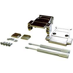 D-SUB pouzdro BKL Electronic 10120239-P/B, pólů 15, plast, pokovený, stříbrná, 1 ks