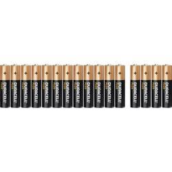 Mikrotužková baterie AAA alkalicko-manganová Duracell Plus Power 12+4, 1.5 V, 16 ks