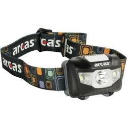 LED čelovka Arcas 7 Modi 5W 30710010, 160 lm, na baterii, 53 g, černá