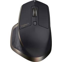 Laserová Wi-Fi myš Logitech MX Master for Business 910-005213, ergonomická, černá
