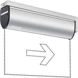Nouzové osvětlení únikových cest montáž na strop vpravo, vlevo ESYLUX SLC LEDi SC/CWandaus EN10030338