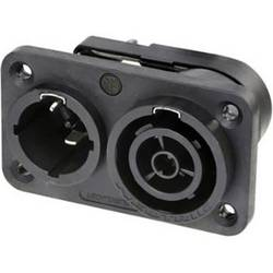 Síťový konektor Neutrik NAC3PX-TOP, zástrčka, vestavná, zásuvka, vestavná, počet kontaktů: 3 + PE, 1 ks