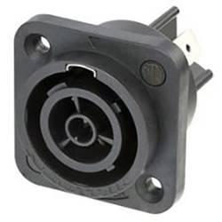 Síťový konektor Neutrik NAC3FPX-TOP, zásuvka, vestavná, počet kontaktů: 3 + PE, 1 ks