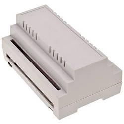 Pouzdro na DIN lištu TRU COMPONENTS 4U65140906310 139 x 89 x 63 , ABS-V0, šedá, 1 ks