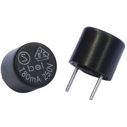 Mini pojistka Belfuse BEL Fuse Sicherung träge radial 5 A, THT, 5.0 A, 250.0 V, T pomalá, 100 ks