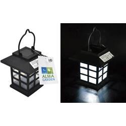 Solární zahradní svítidlo lucerna Alma Garden Laterne 4038732601208, černá