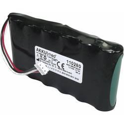 Akumulátor pro lékařské přístroje Akku Med Náhrada za originální akumulátor 80512B001 7.2 V 2700 mAh