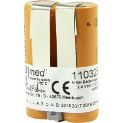 Akumulátor pro lékařské přístroje Akku Med Náhrada za originální akumulátor 4860 501.002 2.4 V 1200 mAh