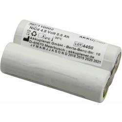Akumulátor pro lékařské přístroje Akku Med Náhrada za originální akumulátor KR-600AE 4.8 V 600 mAh