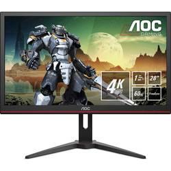 Herní monitor AOC G2868PQU, 71.1 cm (28 palec),3840 x 2160 px 1 ms, TN LED DisplayPort, HDMI™, USB, VGA