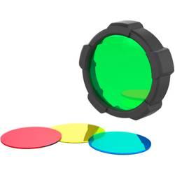 Barevný filtr Ledlenser 501506, červená, žlutá, modrá, zelená, vhodný pro MH10, H8R, H14.2, NEO10R, iH7R CRI, iH8R, 1 ks