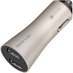 USB nabíječka Pro Mate Robust-QC3gold, nabíjecí proud 4800 mA, zlatá