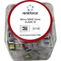 Paměťová karta microSD, 32 GB, Renkforce Class 10