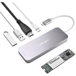 Dokovací stanice pro notebook Minix NEO Storage Hub / NEO S2 240 GB SSD vhodné pro značky: Apple