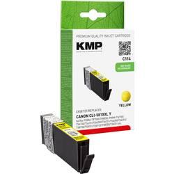 Ink náplň do tiskárny KMP C114 1578,0209, kompatibilní, žlutá