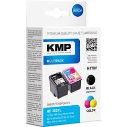 Ink set sada náplní do tiskárny KMP H178V 1763,4005, kompatibilní, černá, azurová, purppurová, žlutá