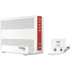 Wi-Fi router s modemem AVM FRITZ!Box 6591 Cable, kabel, 2.4 GHz, 5 GHz