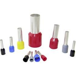 Dutinka WKK Ce 100018D, 10 mm² x 18 mm, částečná izolace, červená, 100 ks